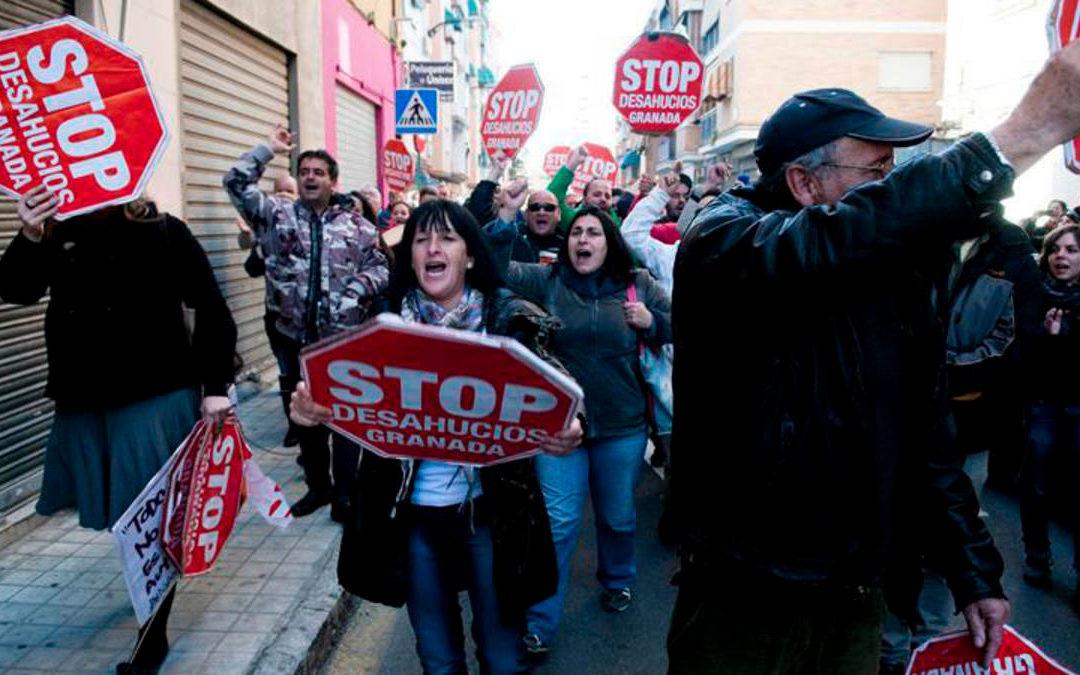 Evolución de los desahucios en España