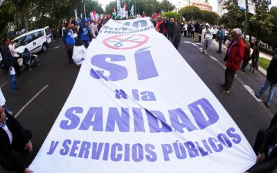 Inversión pública en sanidad en España y en su entorno