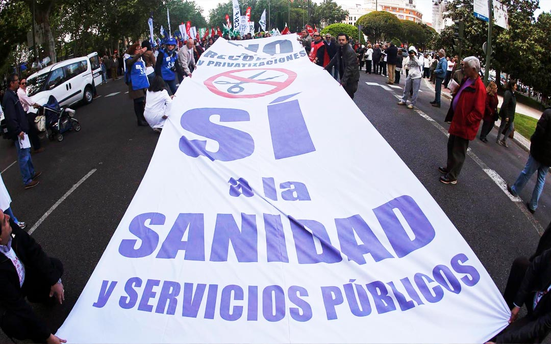Movilizaciones en defensa de la sanidad público
